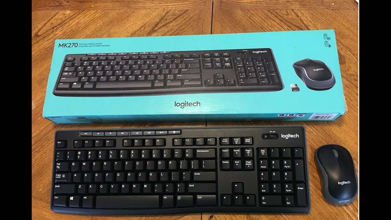 Logitech MK270 Keyboard Typing Test For 9 Minutes!!! - YouTube