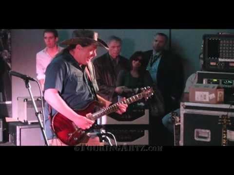 "Ted Nugent performing ""Stranglehold"" live at NAMM 2010 for PRS Guitars"