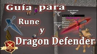 OSRS | Como conseguir Rune & Dragon Defender - VictorRs07