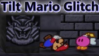Tilt Mario Glitch