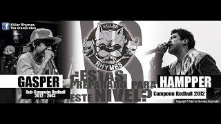 Hampper vs Gasper | Killer Rhymes (Batalla)