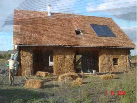96c8eaf8061ff Casa da madeira e palha de Jo Argouach.wmv - YouTube