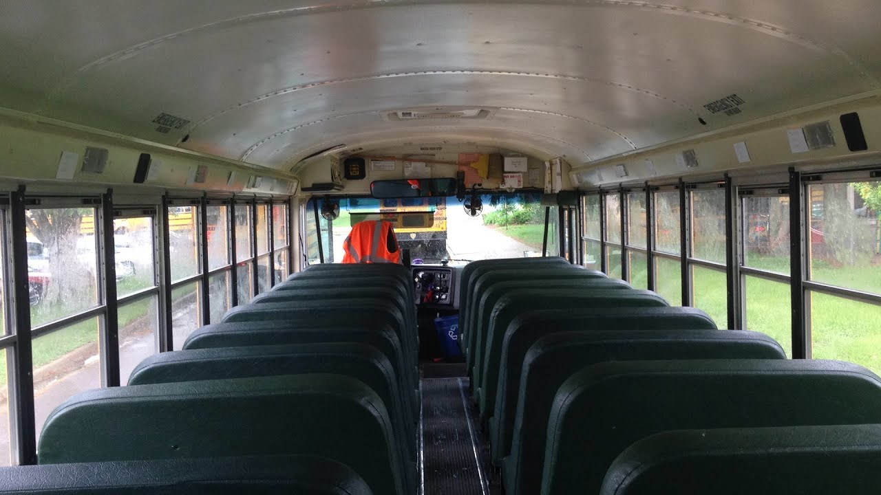 Thomas Built Buses >> 2010 IC CE300: A Quick Look Inside Bus 10-9 - YouTube