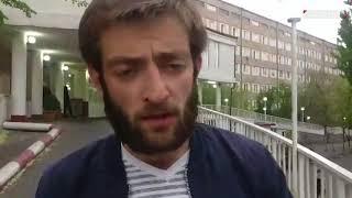 Դավիթ Պետրոսյանը՝ հիվանդանոցի մոտ հարձակման ենթարկվելու մասին