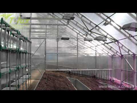 видео: Презентация vip теплицы