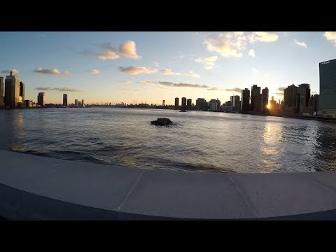 Exploring Roosevelt Island, NYC by bicycle