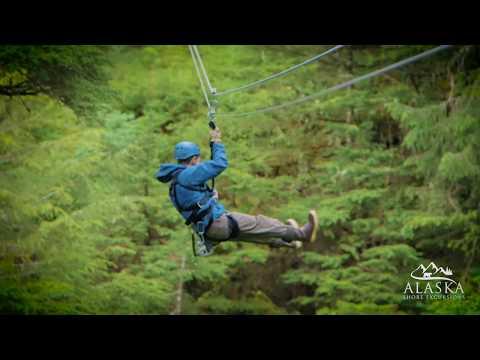 Alpine Zipline Adventure - Juneau, Alaska