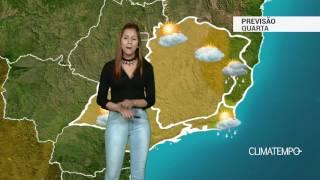Previsão Sudeste - Ar mais seco e temperaturas em elevação