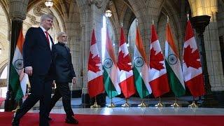 Narendra Modi, Indian PM, Kick's off visit to Canada