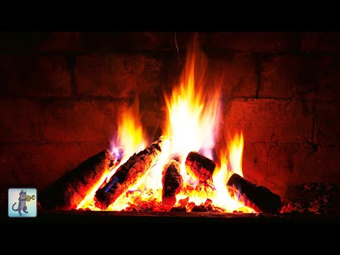 Best Relaxing Christmas Music 2019  with Fireplace 24/7