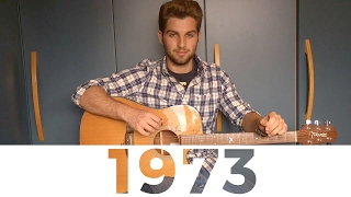 """1973 by James Blunt from the """" All the Lost Souls """" album - Acoustic fingerstyle guitar cover"""