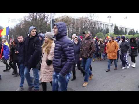 NO COMMENT: Protestul din 14 noiembrie din Chişinău