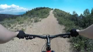 Mallorca mtb - Bajada desde Na Burguesa hacia Illetas/Portals (4K)
