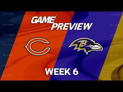 Chicago Bears vs. Baltimore Ravens | Week 6 Game Preview | NFL