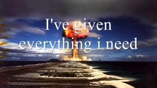 Blow Up The Outside World Soundgarden Lyrics