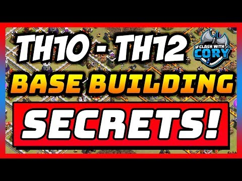 *BASE BUILDING GUIDE* CLASH OF CLANS Th10 - Th11 - Th12 COC War Bases