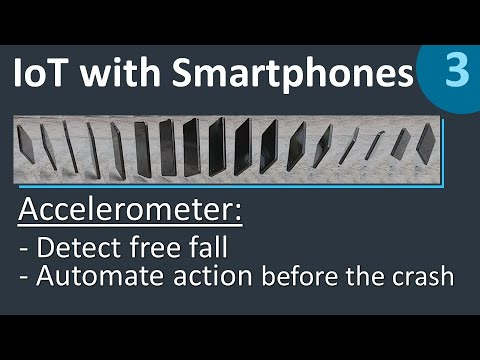 AUTOMATE ACTIONS in Cumulocity just before your phone crashes down - IoT with Smartphones 3/5