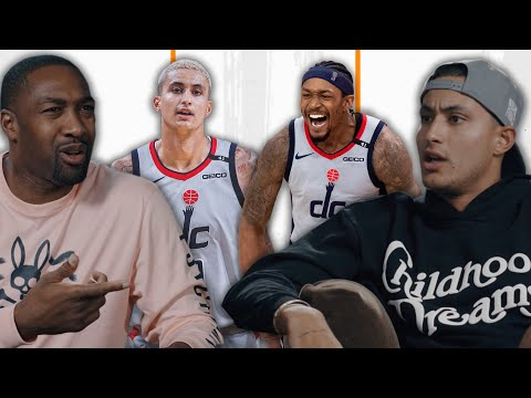 """""""Bradley Beal Is A KILLER""""   Kyle Kuzma Is EXCITED To Join The Washington Wizards"""