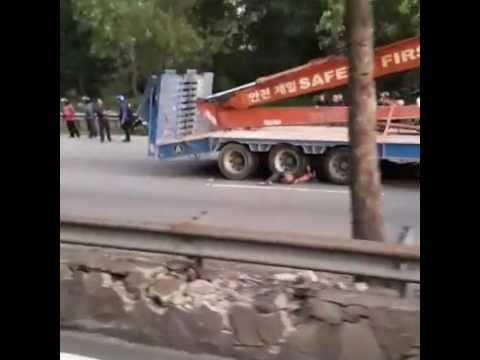 Kemalangan maut highway Pasir Gudang