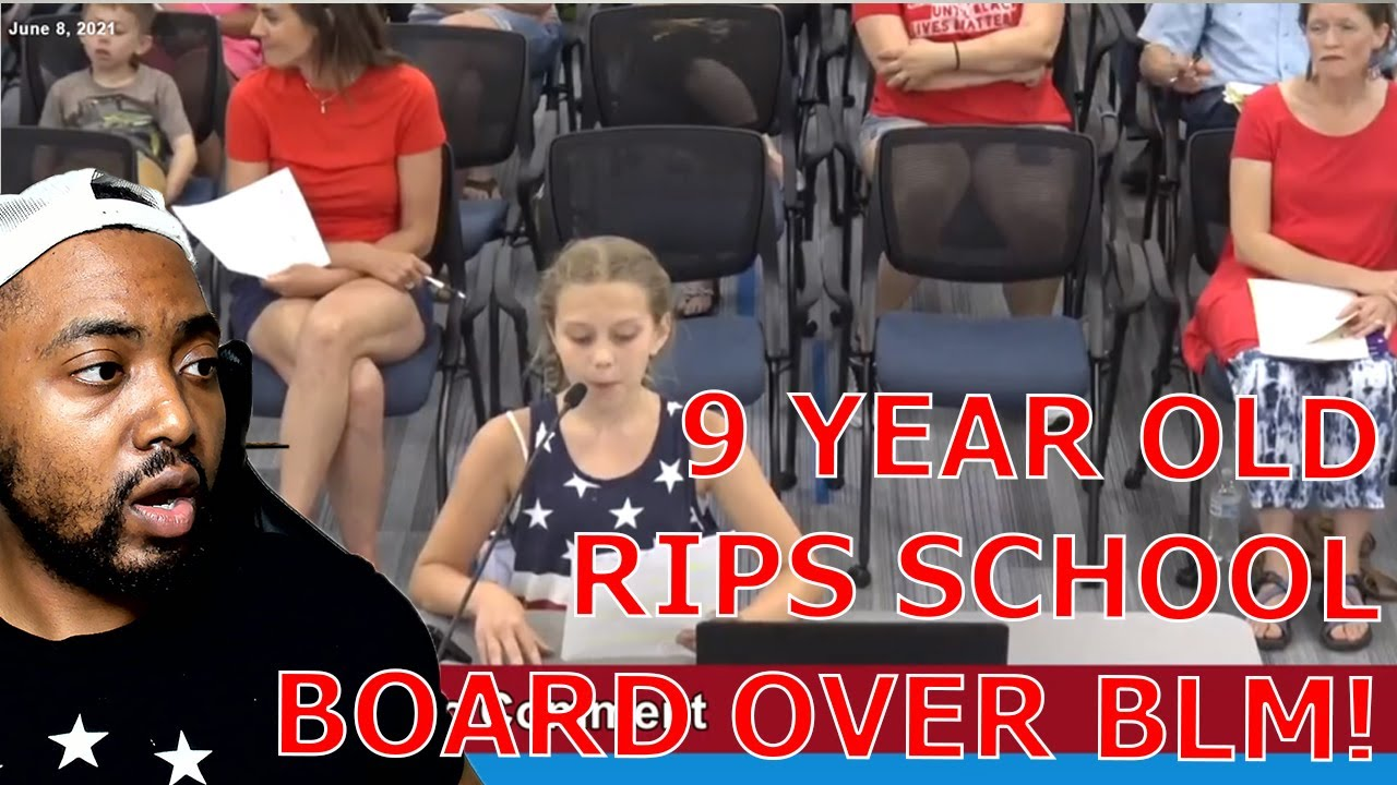 9-Year-Old Girl From Minneapolis RIPS School Board On No Politics But BLM Posters Allowed Hypocrisy