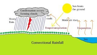 Convectional Rainfall and the Intertropical Convergence Zone