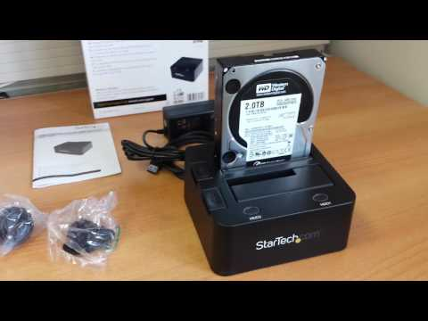 Startech Dual SATA USB 3.0 Dock: Unboxing