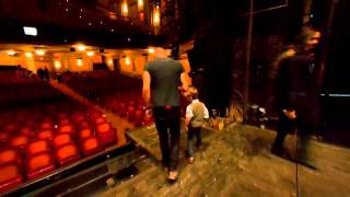 Iain Goes Inside The Last Ship - Part 1 - Backstage Tour