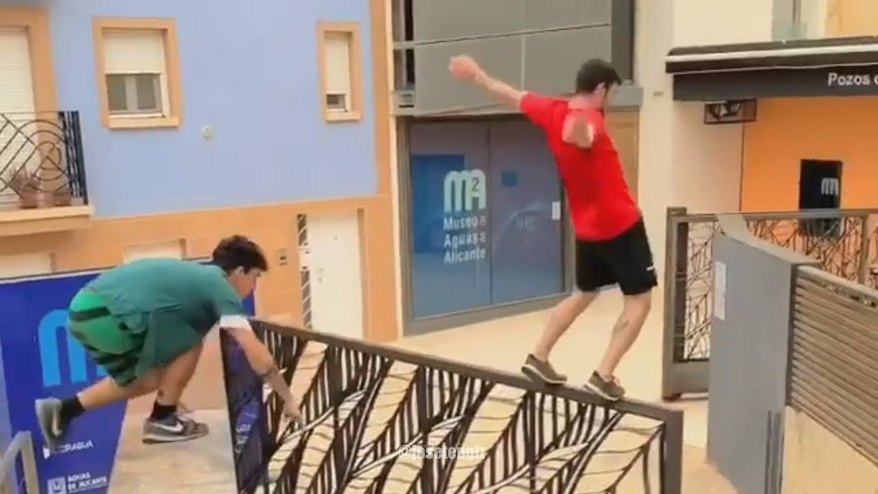 He Almost Got Me - Parkour and Freerunning