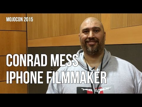 Conrad Mess - iPhonefilmmaker en Mojocon 2015