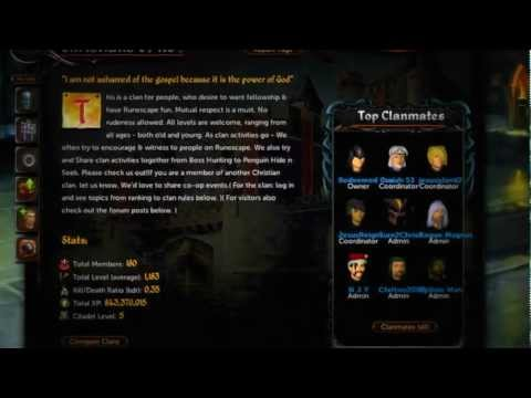 Christians of Rs - Clan forum tutorial