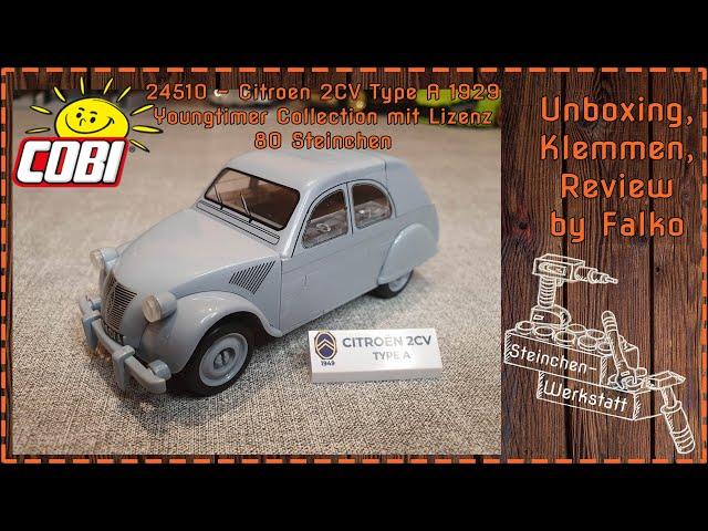 Ente gut, alles gut   Cobi   24510   Citroën 2CV   Youngtimer Collection   Sonntags Happen