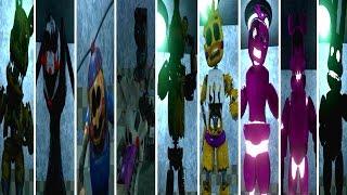 Final Nights 3 Secret MUSEUM  ALL ANIMATRONICS