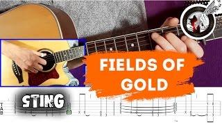 Fields of gold (Sting) - видеоурок + табы