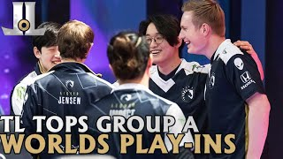 #Worlds2020 Play in Recap | Team Liquid Tops Group A