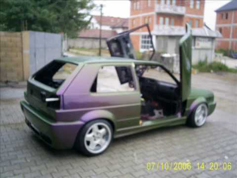 vw golf  barbaro youtube