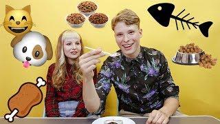 Ochutnávam Mačacie Jedlo ! w/ Cheryl