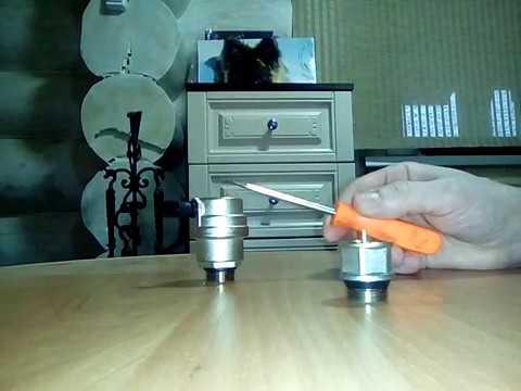 Отсекающий клапан для автоматического воздухоотводчика!!!