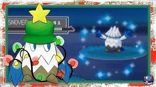 live wshc 1 christmas special pokemon platinum shiny snover after 3 631 re s