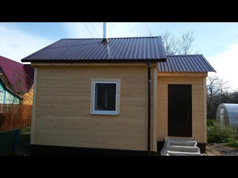 Дачный дом с печкой проект Прима14 - ПостройКа52 - Н.Новгород