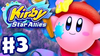 Kirby Star Allies Gameplay Part 1