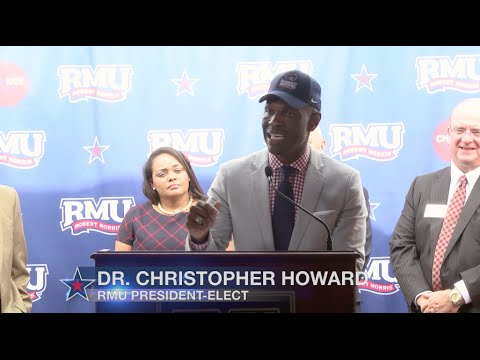 Robert Morris University Announces Dr. Christopher B. Howard as the 8th President