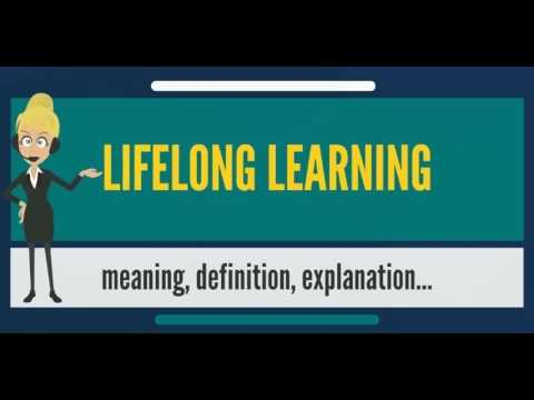 paragraph about lifelong learning