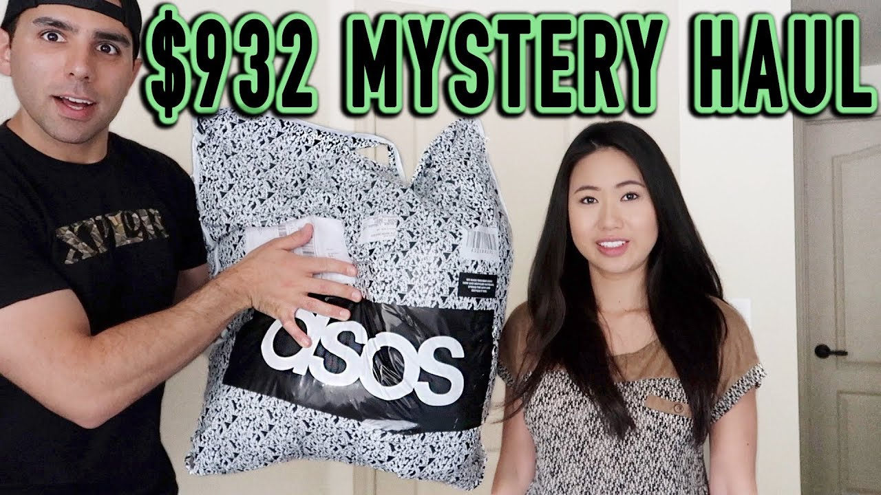 258f337e MASSIVE $932 ASOS Try On Haul & Review | Boyfriend Does My Clothing Haul