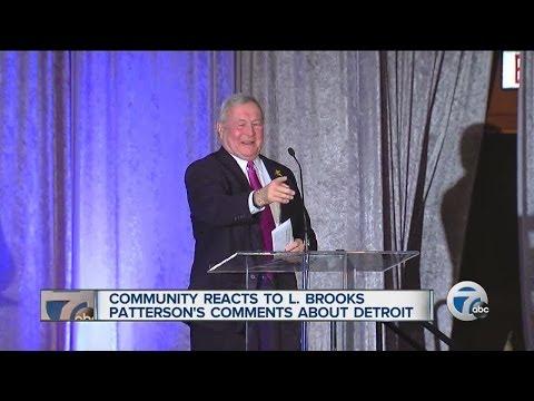 Community reacts to L. Brooks Patterson's comments about Detroit