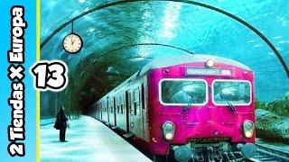 El Tren que VIAJA POR DEBAJO DEL MAR! 😱   2 Tiendas X Europa Ep.13