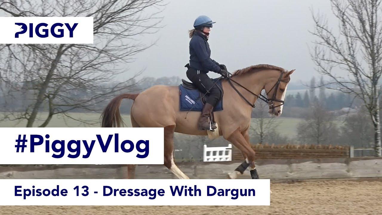 Dressage With Dargun   Episode 13   #PiggyVlog 2021