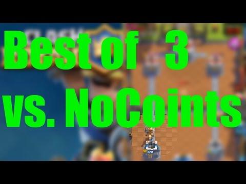 Clash Royale l Best of 3 vs. NoCoints [German/HD]