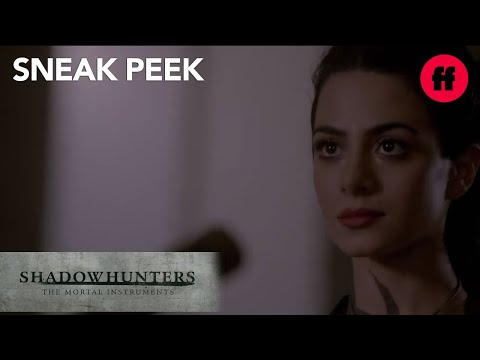 Shadowhunters | Season 2 Sneak Peek: Clary & Izzy Train | Freeform