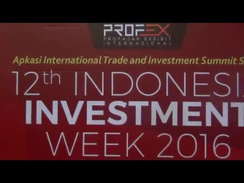 12 th Indonesia Investment 2016 JIEXPO Jakarta
