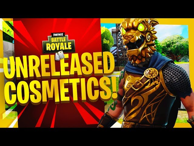 NEW FREE FORTNITE UNRELEASED COSMETICS GFX TEMPLATE! - (Fortnite Thumbnail Template PSD)